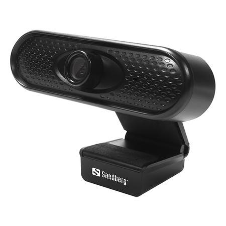 Sandberg USB 1080P Webcam with an Intergrated Microphone with 5 Year Warranty