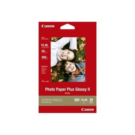 Canon Photo Paper Plus II PP-201 - glossy photo paper - 20 sheets
