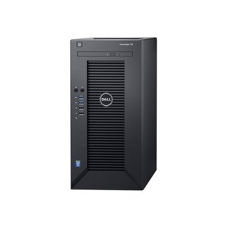 Dell PowerEdge T30 Intel Xeon E3-1225v5 3.3GHz - 8GB - 1TB - DVD-RW - Tower Server