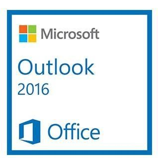 Microsoft Outlook 2016 Sngl OLP 1 License NL