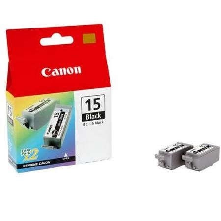 Canon BCI 15 Ink Tank - 2 x Black