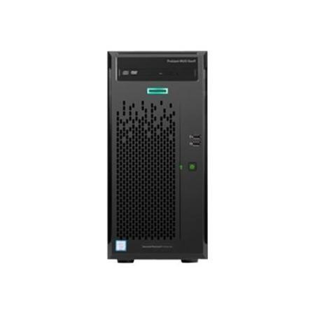 HPE ProLiant ML10 Gen9 Xeon E3-1225v5 Quad-Core 3.30GHz 8GB 2x1TB 7.2k rpm Non-Hot Plug 3.5in SATA DVDRW 300W Tower Server