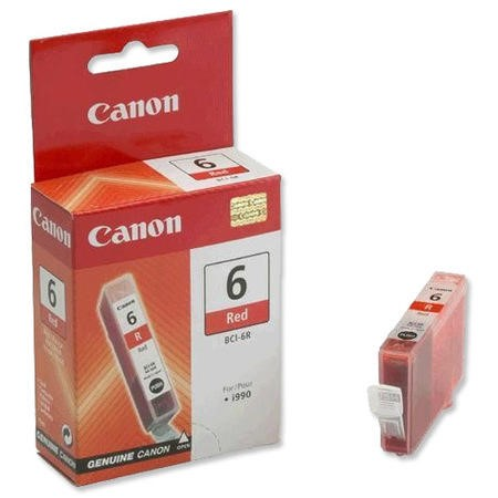Canon BCI 6R Ink Tank - Red
