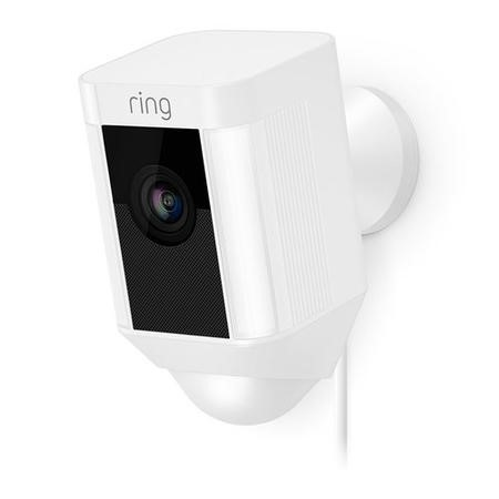 Ring Spotlight Camera 1080p HD - Wired - White