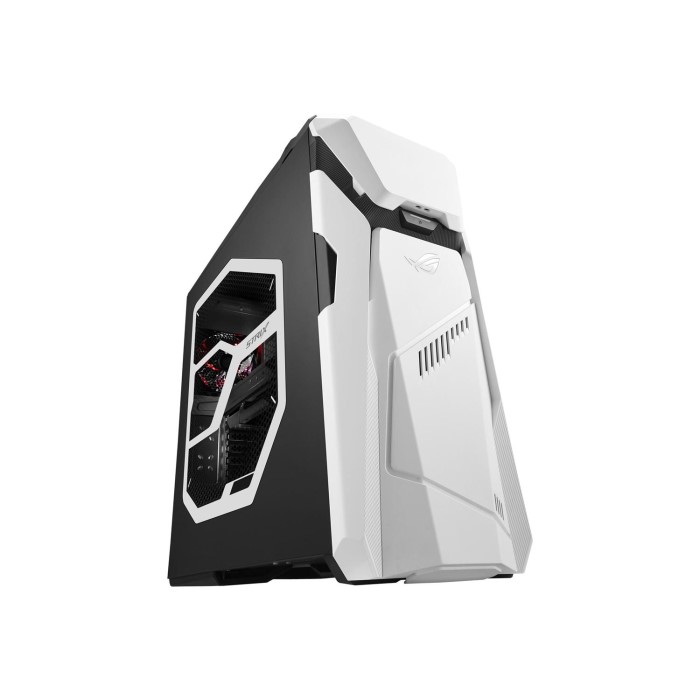 Refurbished Asus ROG Core i7-7700 32GB 2TB 256GB SSD GeForce GTX 1080  DVD-RW Windows 10 Gaming Desktop