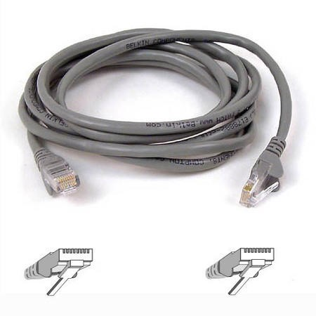 Belkin High Performance RJ45 CAT 6 UTP Patch Cable 3M - Grey