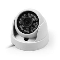 ElectrIQ 720p High Definition Dome CCTV Camera 3.6mm 25mIR compatible with Analogue HD DVR's