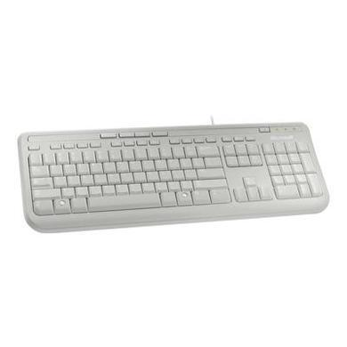 Microsoft Wired Keyboard 600 White