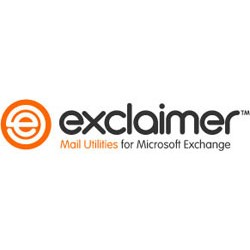 Exclaimer Mail Utilities - 50 Users - For Server 2003_2008 or SBS2008