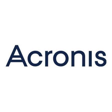 Acronis Backup Standard Server Subscription License 1 Year Scale_ 1+