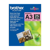 Brother BP - Matte paper - A3 Nobi (328 x 453 mm) - 25 sheet(s)