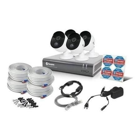 Swann HD 1080p 4 Camera CCTV System with Professional Installation
