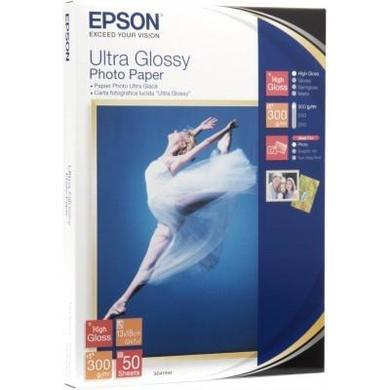 Epson Ultra Glossy Photo Paper - glossy photo paper - 50 sheets