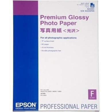 Epson Premium Glossy Photo Paper - glossy photo paper - 25 sheet(s)