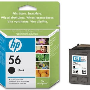 HP 56 - Black Print Cartridge