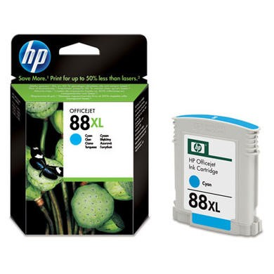Hewlett Packard 88XL Print cartridge - 1 Cyan - 1200 pg