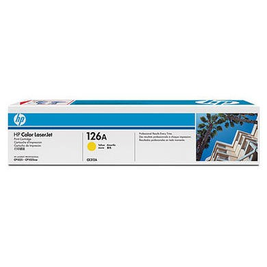 Hewlett Packard HP YELLOW TONER FOR CP1025