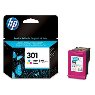 HP 301 Tri-colour Ink Cartridge CH562EE