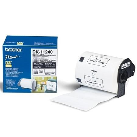 Brother DK-11240 - Bar code labels - 51 x 102 mm - 600 labels