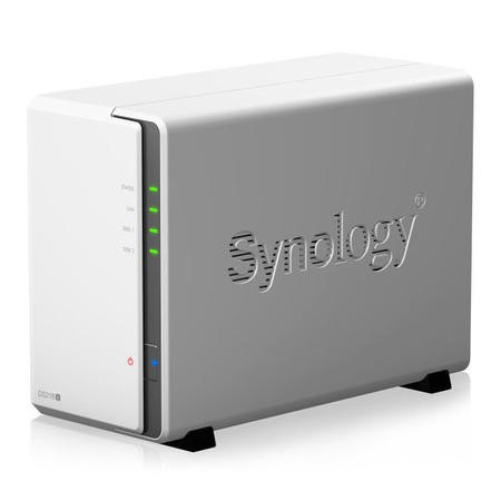 Synology DS218J 2 Bay Diskless Desktop NAS