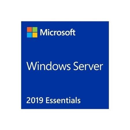 Microsoft Windows Server 2019 Essentials - Licence - 1 Server - 64B - DVD -  1-2CPU