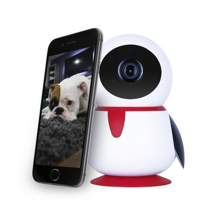 electriQ HD 1080p Wifi Pet Monitoring Pan Tilt Zoom Camera with 2-way Audio & dedicated App