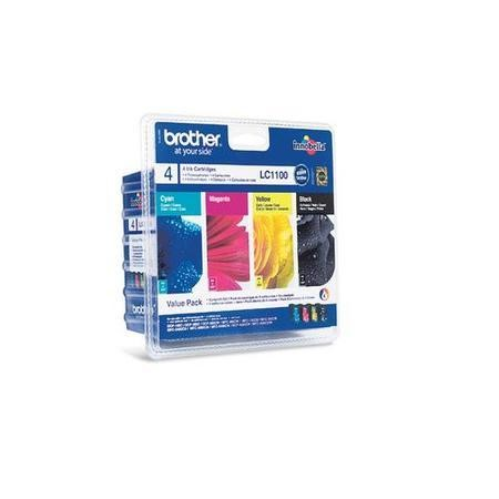 Brother LC1100VALBP Value Blister Pack Ink Cartridges