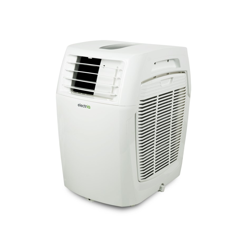 Electriq 15000 Btu 4 4 Kw Compact Portable Air Conditioner With Heat Pump For Rooms Up To 40 Sqm On Servers Direct