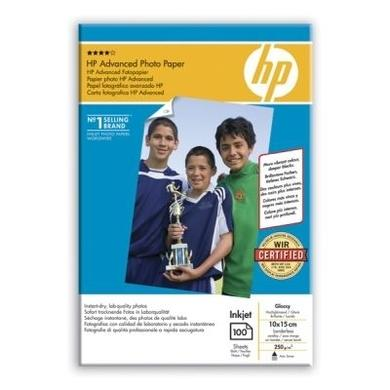 HP Advanced Glossy Photo Paper - glossy photo paper - 100 sheets