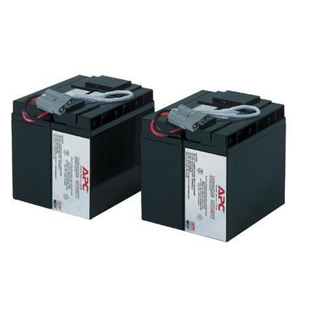 APC Replacement Battery Cartridge #55 - UPS battery x 2 - Lead Acid