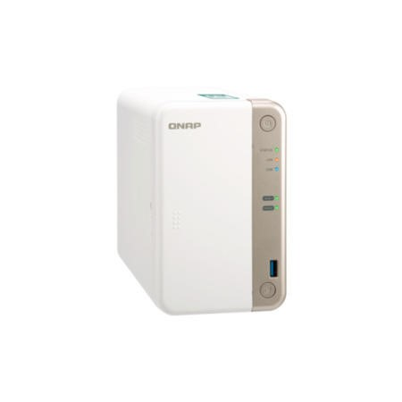 QNAP TS-251B-2G 2 Bay - 4GB Diskless Desktop NAS