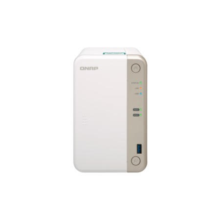 QNAP TS-251B-4G 2 Bay - 4GB Diskless Desktop NAS